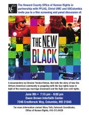 The New Black Screening Flier-1