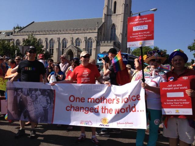 New PFLAG Banner